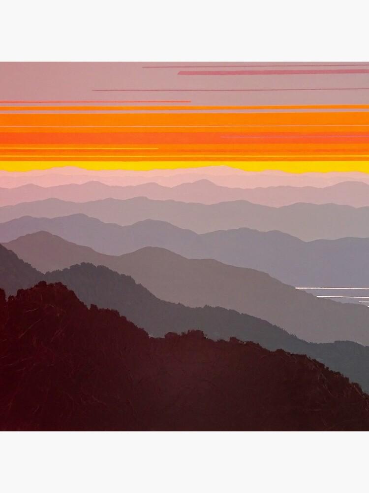 """""""Misty Mountain Morning"""" #97 by CindyLouChenard"""