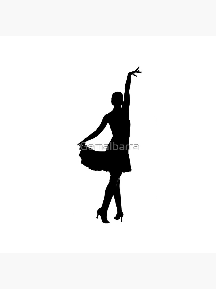 Latin Dancer Silhouette Tote Bag By Gemaibarra Redbubble