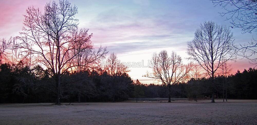 Winter Sunrise by ArkansasLisa