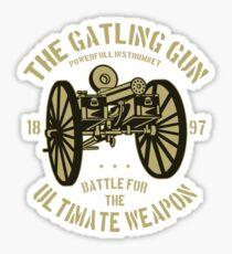 Gatling Gun Stickers   Redbubble