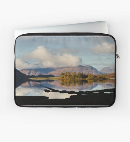 Clouds Over Ardgour Laptop Sleeve