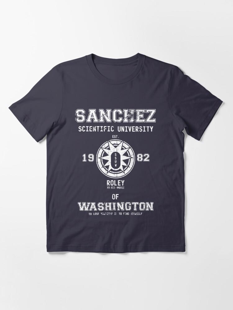 Alternate view of Sanchez University Essential T-Shirt