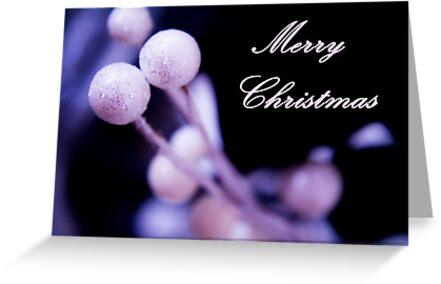 Merry Christmas Postcard Christmas by GemaIbarra