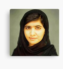 Malala Canvas Print