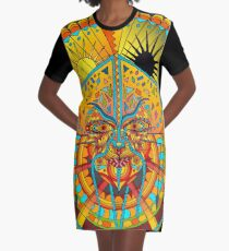 58 Fragmented mind - colorful image Graphic T-Shirt Dress