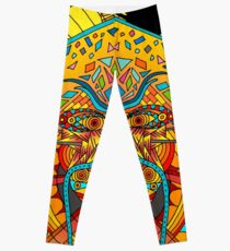 58 Fragmented mind - colorful image Leggings