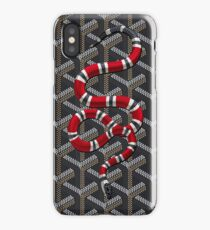 sanake down black iPhone Case/Skin