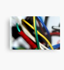 Cut the green wire.. or the yellow wire? Metal Print