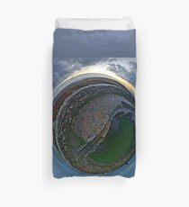 Winter Solstice Dawn over Grianan, Donegal, Ireland Duvet Cover