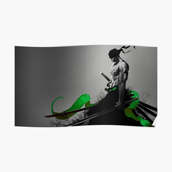 RORONOA ZORO - ONEPIECE Poster