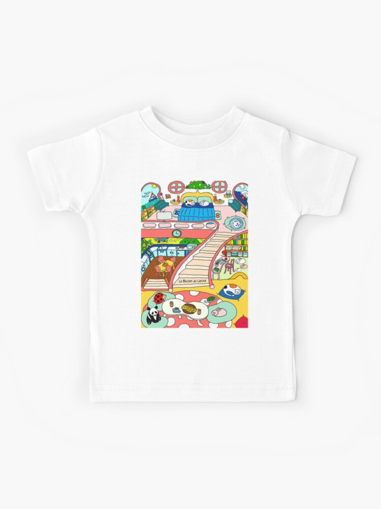 La Maison du Lapino  Kids T-Shirt