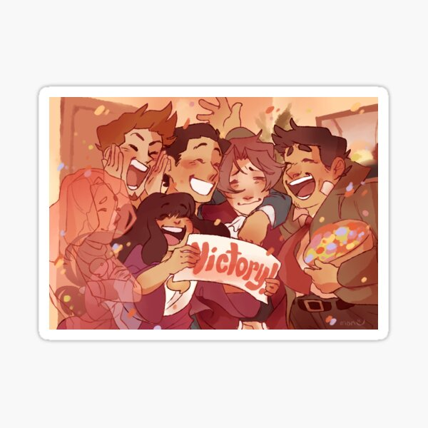victory! Sticker