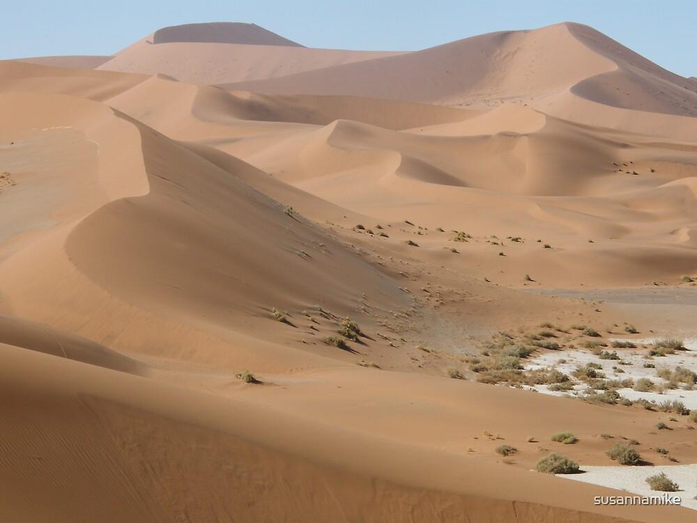 Namib Desert Dunes by susannamike