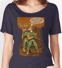 No Antlers Women's Relaxed Fit T-Shirt