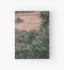 Australian rural  scene  Hardcover Journal
