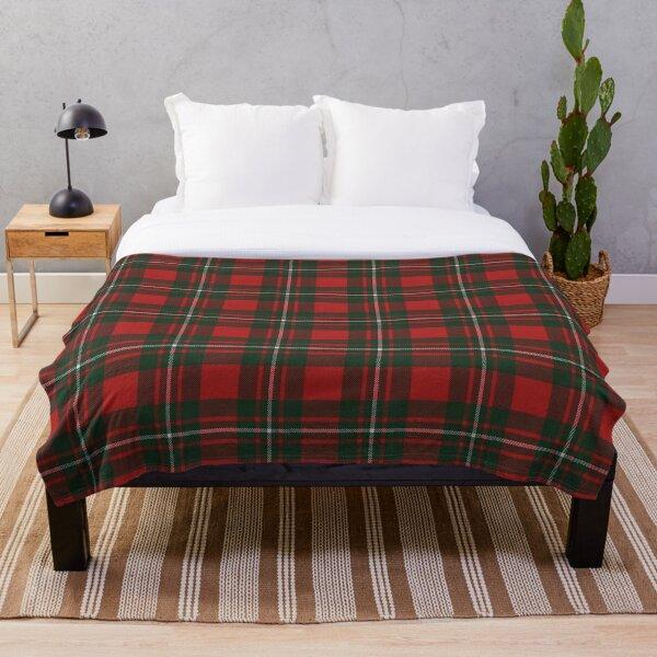 MacGregor Modern Scottish Tartan Throw Blanket