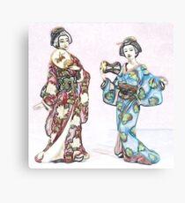 GEISHA GIRLS Canvas Print