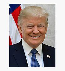 Official Donald Trump Portrait  Photographic Print