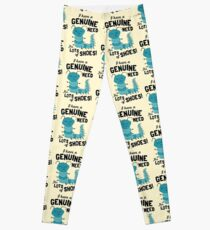 I Have a Genuine Need for Lots of Shoes - Caterpillar Leggings
