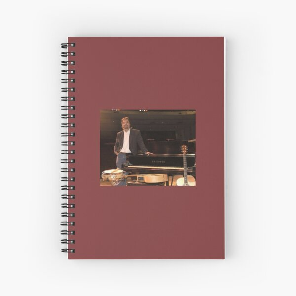 Tony DuPuis Theater Stage Pic Spiral Notebook