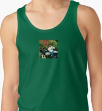 Tony DuPuis Louisiana Promo Patio Scene Tank Top