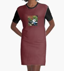 Tony DuPuis Louisiana Promo Patio Scene Graphic T-Shirt Dress