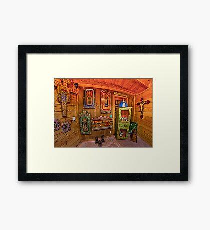 EL RINCON. Framed Print