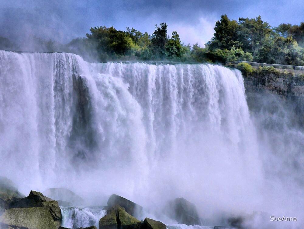 Rush  (Niagara Falls) by SueAnne
