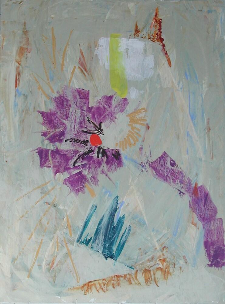 Space Flower by Stewart Pelton