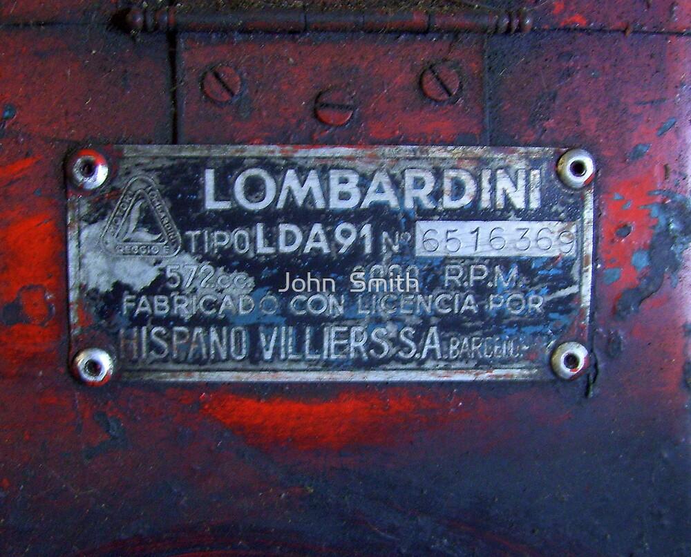 """Lambardini."" by John  Smith"