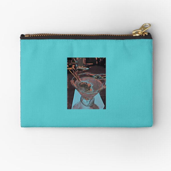 Martini Madness 3  Original Photography by Tony DuPuis Zipper Pouch
