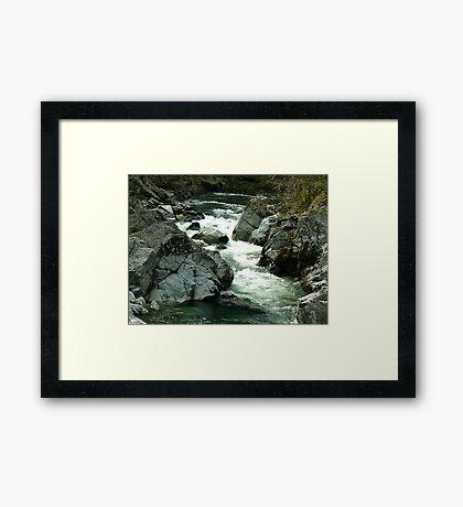 Rippling Waters Framed Print