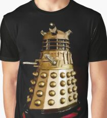Dr Who and the Dalek's Art Painting - © Doc Braham; All Rights Reserved Graphic T-Shirt