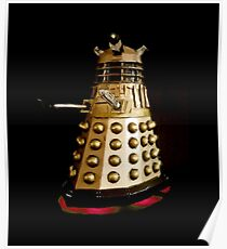 Dr Who and the Dalek's Art Painting - © Doc Braham; All Rights Reserved Poster