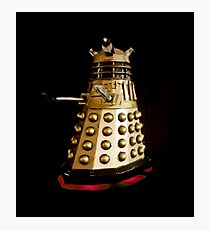 Dr Who and the Dalek's Art Painting - © Doc Braham; All Rights Reserved Photographic Print