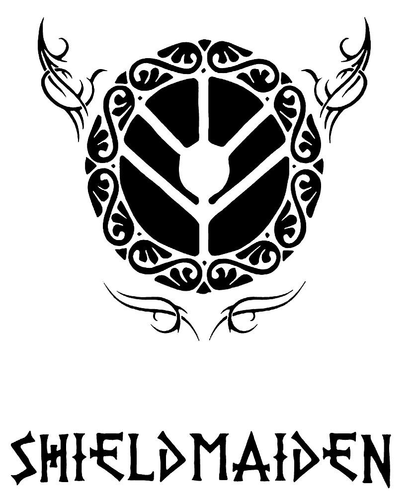 Viking Shield Maiden By Lakelandwholes1 Redbubble