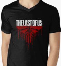 LAST OF US - BLOOD Men's V-Neck T-Shirt