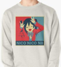 Red, White and Nico! Pullover