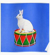 Bunny the Drummer Poster