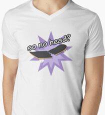 So No Head? Men's V-Neck T-Shirt