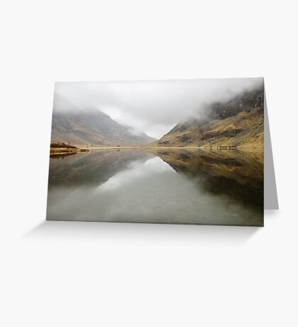 Misty Moods Greeting Card