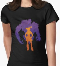Gaige the Mechromancer and Deathtrap Women's Fitted T-Shirt