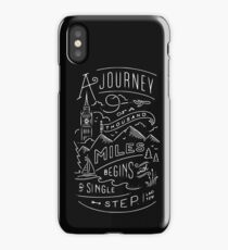 The Travel Mindset iPhone Case/Skin