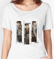 Maze Runner - Minho, Thomas, Newt Women's Relaxed Fit T-Shirt
