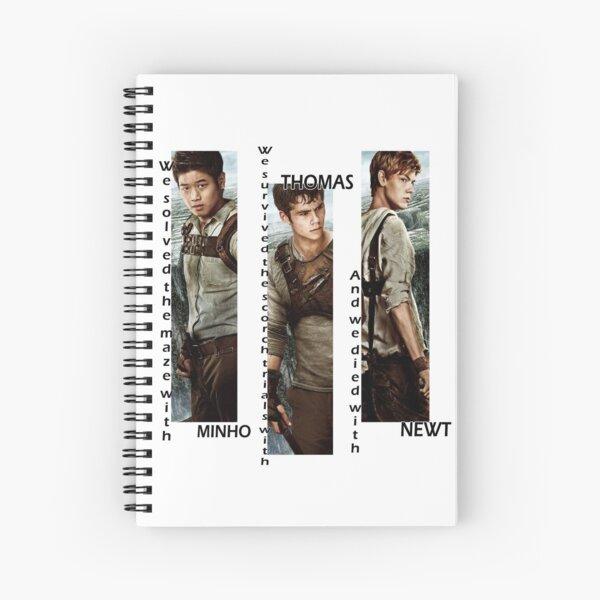 Maze Runner - Minho, Thomas, Newt Spiral Notebook