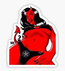 Wormview Demon Girl Sticker