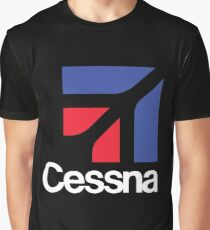 Cessna aircraft USA Graphic T-Shirt