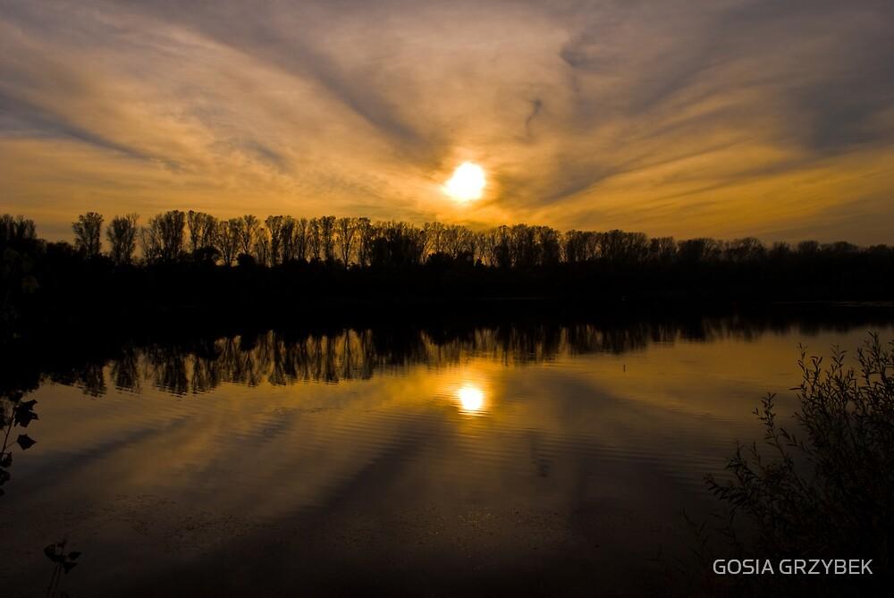 Rhine river basin-Germany  (Brühl) by GOSIA GRZYBEK