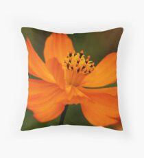 Orange queen Throw Pillow