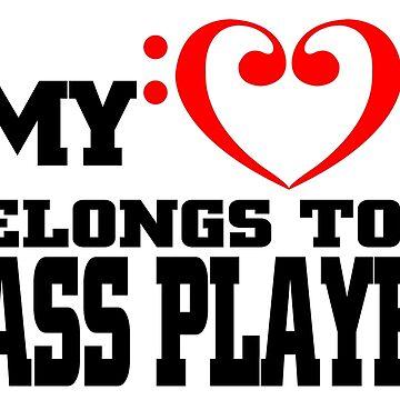 My Heart Belongs to A Bass Player by flipper42